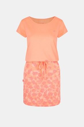 Жіноча помаранчева сукня LOAP Asmen