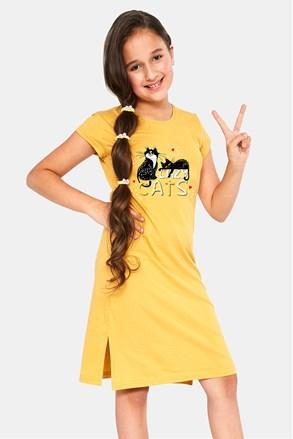 Нічна сорочка для дівчинки Cats