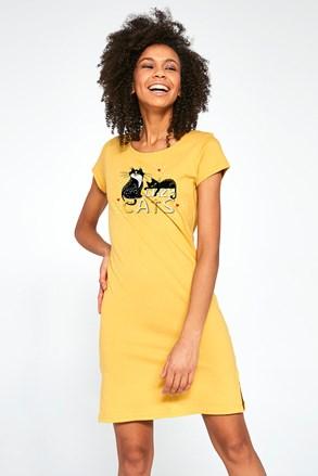 Жіноча нічна сорочка Lazy Cats