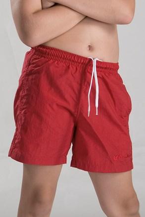Пляжні шорти для хлопчиків червоні