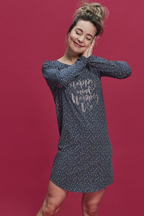 Жіноча футболка для сну Happy Mind
