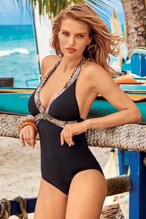 Жіночий суцільний купальник Salina Sand