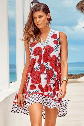 Пляжна сукня Itaca red