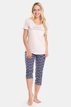 Жіноча піжама зі штанами-капрі Abeil