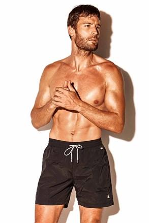 Чоловічі пляжні шорти Caicco plus size чорні