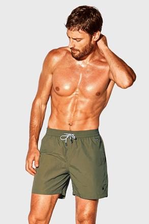 Пляжні шорти кольору хакі David 52 Caicco