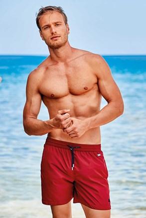Червоні шорти для плавання Basic