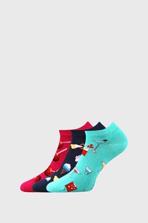 3 ПАРИ жіночих шкарпеток із солодощами