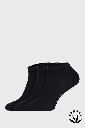 3 ПАРИ бамбукових шкарпеток Desi чорні
