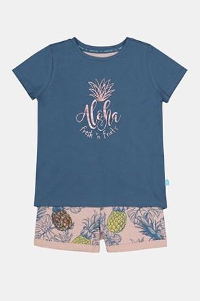 Піжама для дівчаток Aloha Pineapple