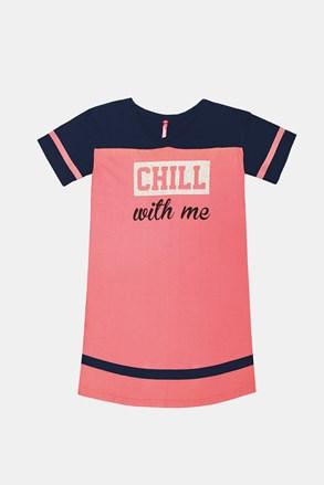 Нічна сорочка для дівчаток Crew рожева