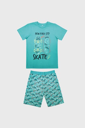 Піжама для хлопчиків Skate блакитна