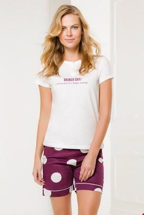 Жіночий біло-рожевий комплект Brunch Day