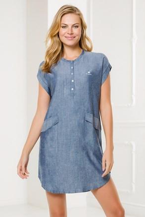 Жіноча домашня сукня Navetta синя