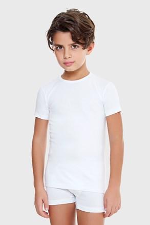 Футболка для хлопчика E. Coveri біла базова
