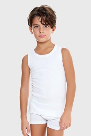 Майка для хлопчика E. Coveri біла базова