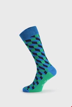 Шкарпетки Happy Socks Filled Optic зелено-сині