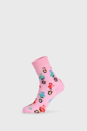 Шкарпетки Happy Socks Flamingo Half Crew