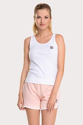 Жіночий біло-рожевий комплект FILA French terry