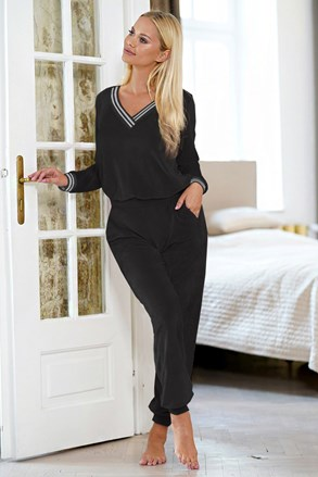 Жіночий чорний домашній комплект Geri