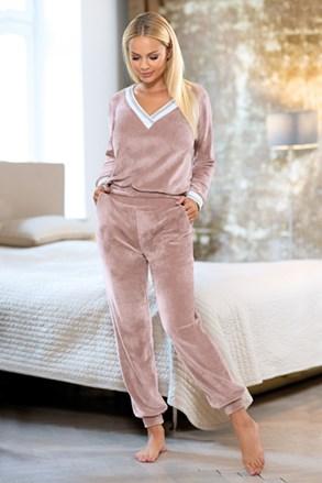 Жіночий рожевий комплект для дому Geri