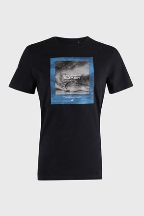 Темно-синя футболка Sea