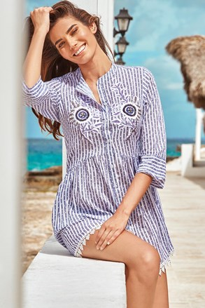 Пляжна сукня-сорочка Sandra
