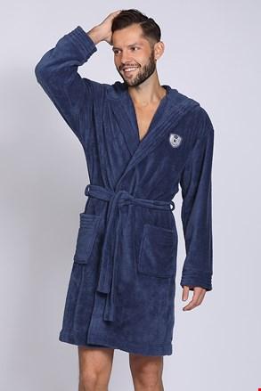 Чоловічий халат Ivo Navy
