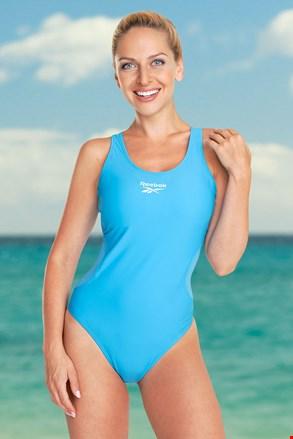 Жіночий суцільний купальник Reebok Lallie Aqua