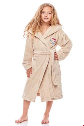 Халат для дівчаток Little Lady бежевий