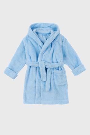 Халат для хлопчиків Simple світло-синій