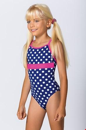 Суцільний купальник для дівчаток Dots