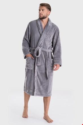 Темно-сірий халат DKNY