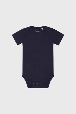 Бодік для хлопчиків з короткими рукавами Baby синій