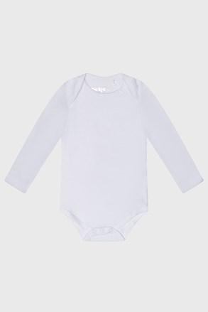 Дитячий бодік з довгими рукавами Baby білий