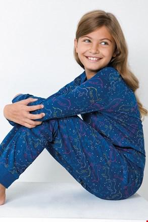 Піжама для дівчаток Unicorn синя
