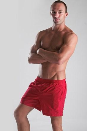 Чоловічі пляжні шорти червоні