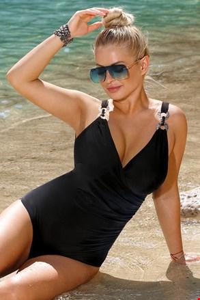 Жіночий суцільний купальник Paula Black