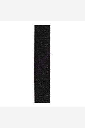 Текстильні бретельки 18 мм чорні