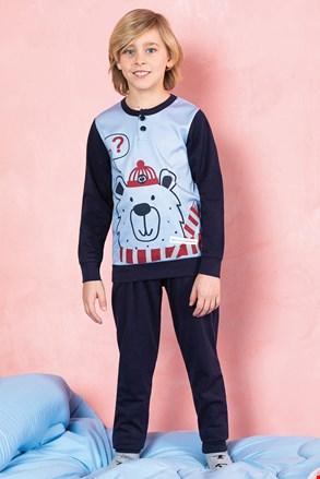 Піжама для хлопчиків Bear синя