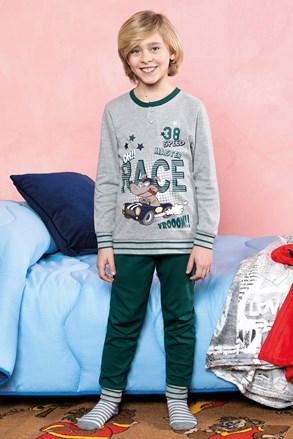 Піжама для хлопчиків Race зелена