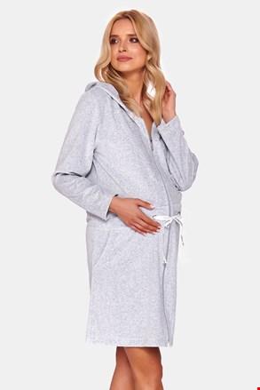 Жіночий халат для вагітних Merida Grey