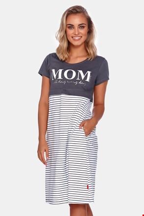 Сорочка для вагітних і для годуючих мам Mom
