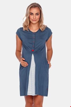 Сорочка для вагітних і для годуючих мам Arco Blue