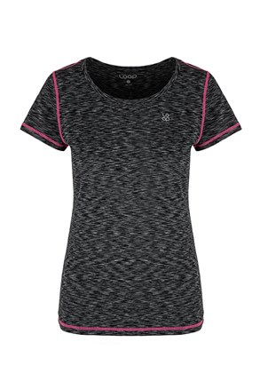 Жіноча чорна футболка LOAP Madam