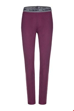 Жіночі фіолетові функціональні штани LOAP Peddy