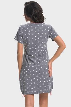 Сорочка для вагітних, для годуючих мам Leila Pink