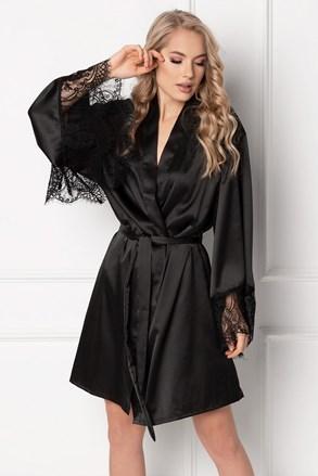 Жіночий аласний халат Vintage