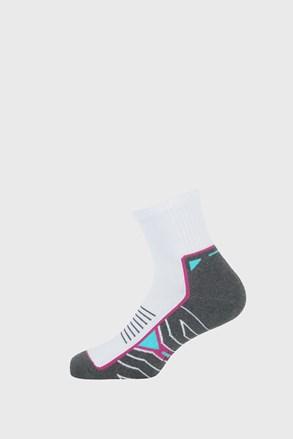 Спортивні шкарпетки для дівчаток Active сіро-білі