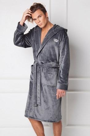 Сірий халат William